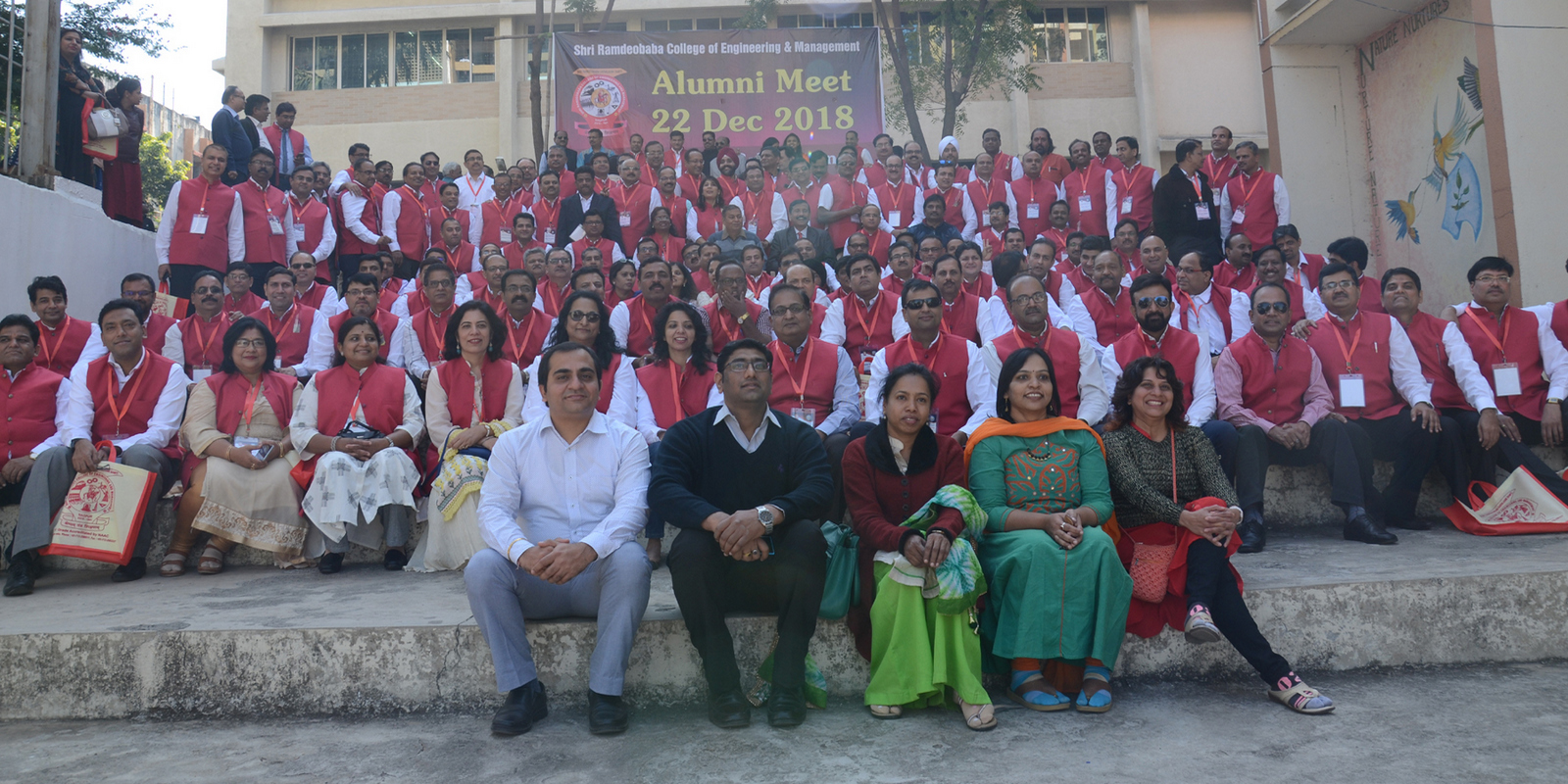 Conclave-2018 celebrated at RCOEM for 1993 and 2002 batches.