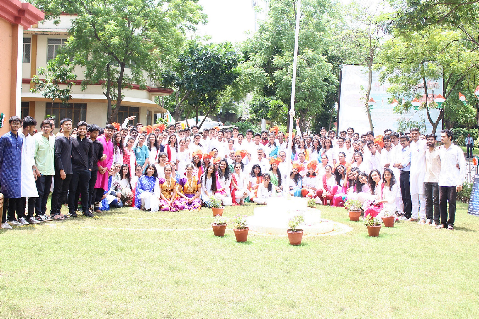 73rd Independence Day celebrations in RCOEM